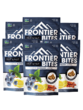 6pk Frontier Bites (Almond Blueberry Lemon)