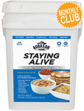 Augason Farms® Staying Alive Bucket Monthly Club