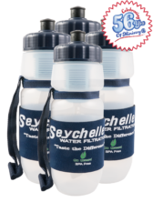 4 - Seychelle® pH2O Pull-Top Water Bottle