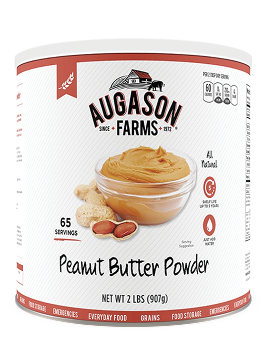 Augason Farms Peanut Butter Powder