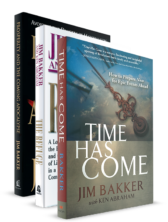 Jim Bakker Book Bundle Hardback time has come