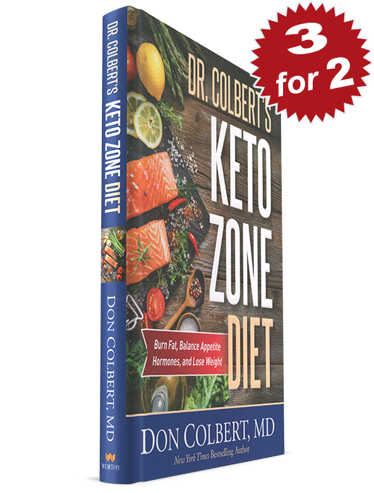 3 for 2 Keto Zone Diet Book