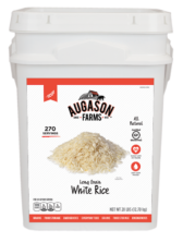 Augason Farms White Rice