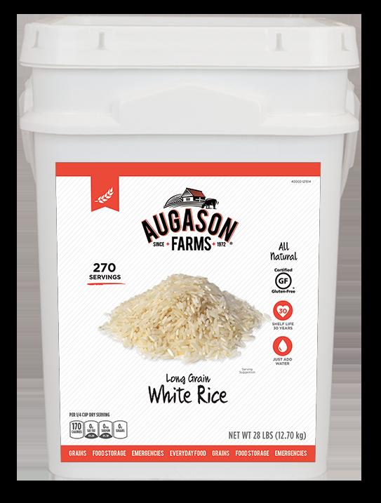 Augason Farms White Rice