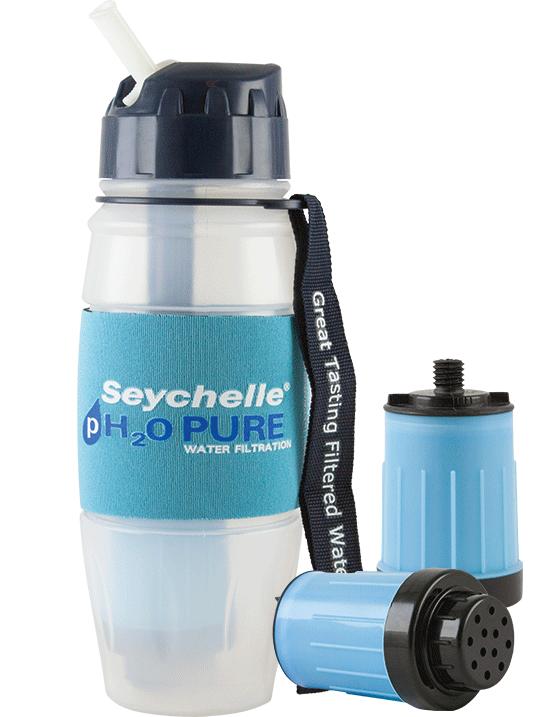 28 oz pH2O Bottle w/Bonus Filters