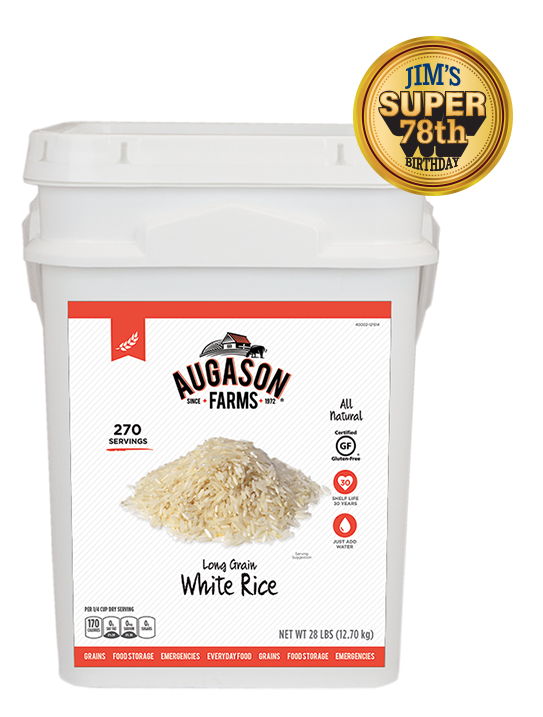 4G White Rice