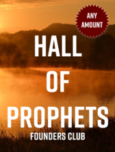 Hall Of Prophets Founder Club ANY$