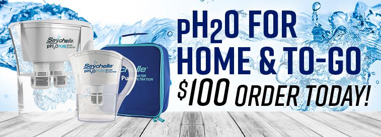 pH2O for home and go JBS Slide