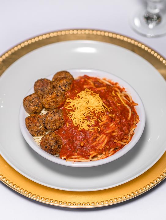 Spaghetti & Bean Balls