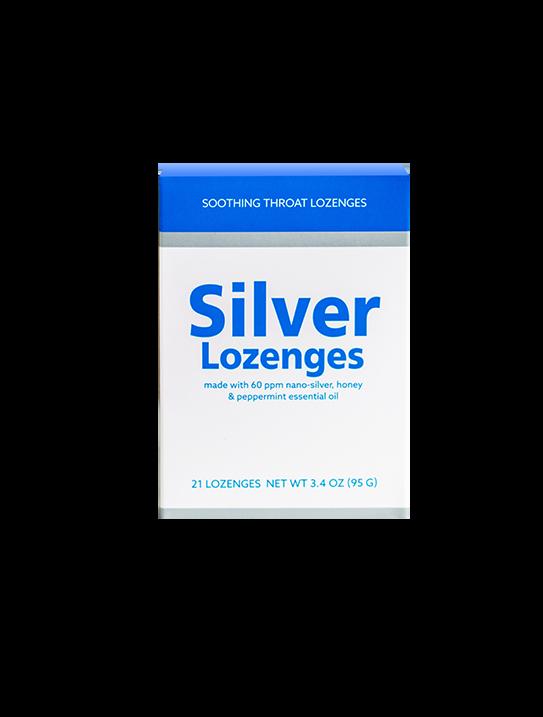 Silver Throat Lozenges Gluten Free Shop Silver Solution Usa