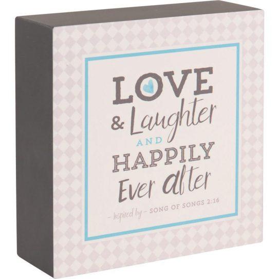 Love&LaughterPlaque