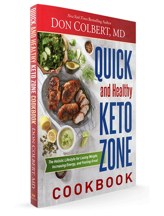 Quick & Healthy Keto Cookbook - Dr Don Colbert