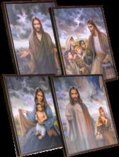 4 Masters Art Series Brown Frame