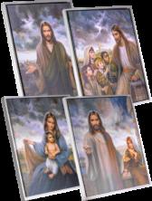 4 Masters Art Series White Frame