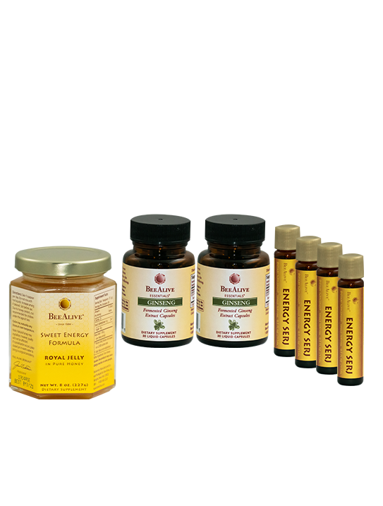 Bee Alive Ginseng Energy Bundle | The Jim Bakker Show Store
