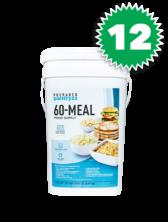 12 Prepared Pantry 60 Meal Buckets