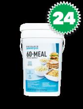 24 Prepared Pantry 60 Meal Buckets