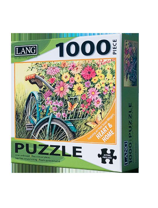 Bicycle Bouquet 1,000 Piece Puzzle