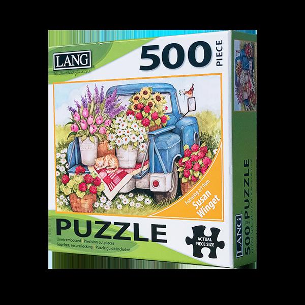 Fresh Bunch 500 Piece Puzzle