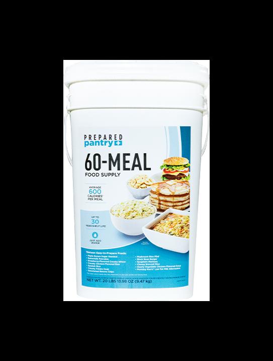 Prepared Pantry 60 Meal Bucket