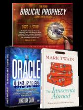 Oracle 8 DVD Set, Mark Twain Book & Jewish Calendar