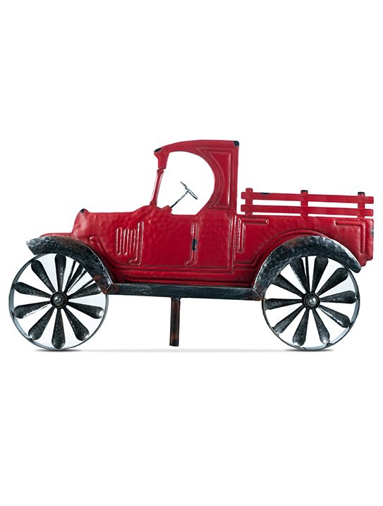 Red Truck Wind Spinner