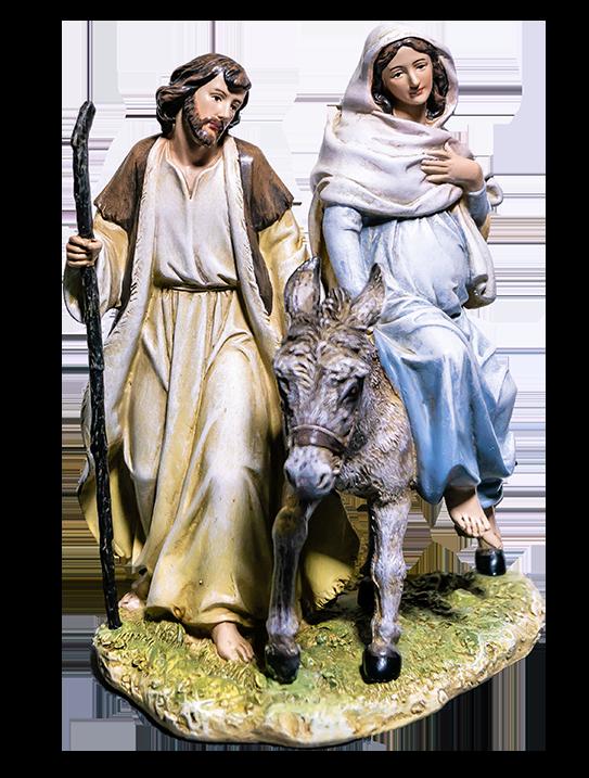 Mary & Joseph on Their Way to Bethlehem