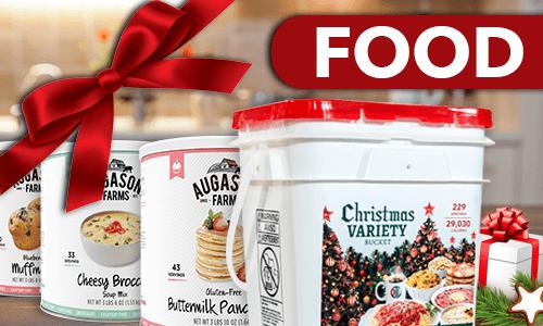 Shop emergency food for Christmas gifs