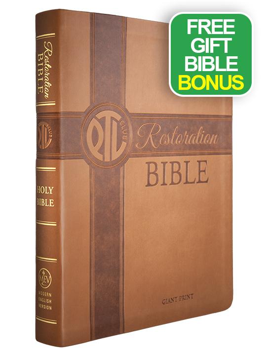Restoration Bible Offer