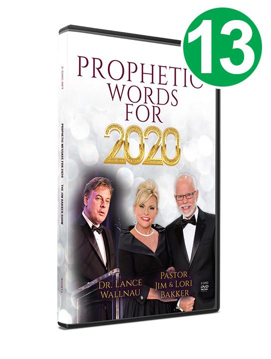 Thirteen Prophetic Words for 2020 DVDs