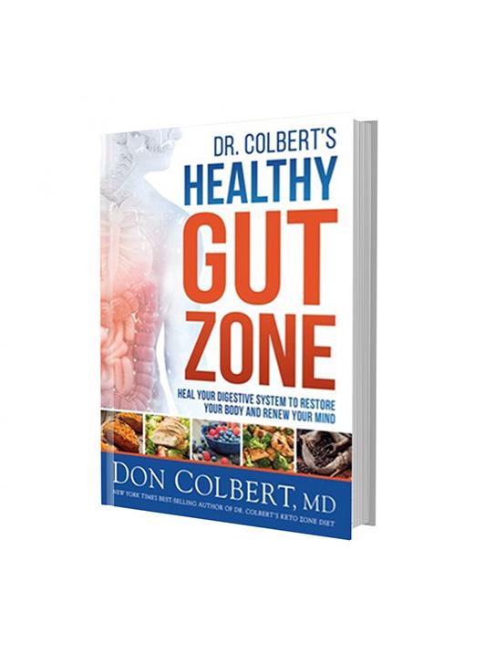 Dr. Colbert's Healthy Gut Zone Book