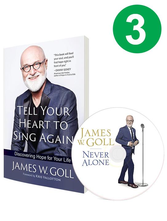 Sing Again & Never Alone 3 Book Offer | The Jim Bakker
