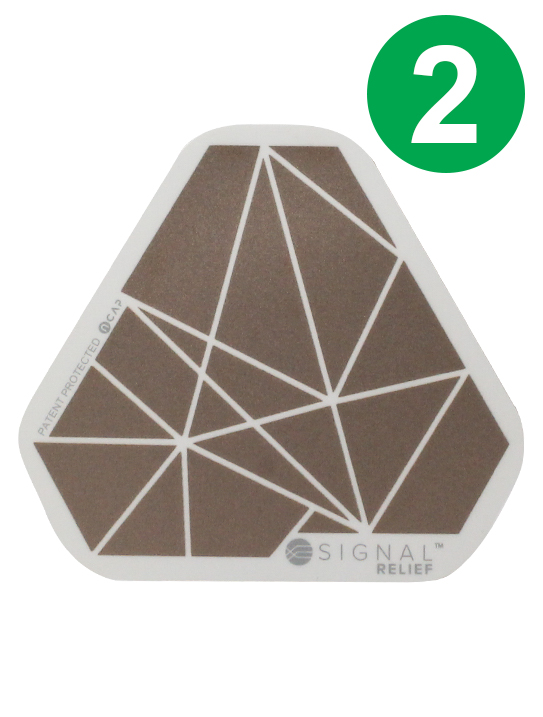 2 Signal Relief Patches