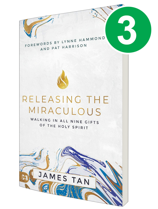 Releasing the Miraculous 3 Book Offer