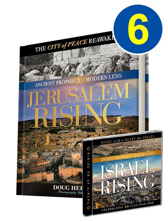 Jerusalem Rising 6 Book Bonus Offer