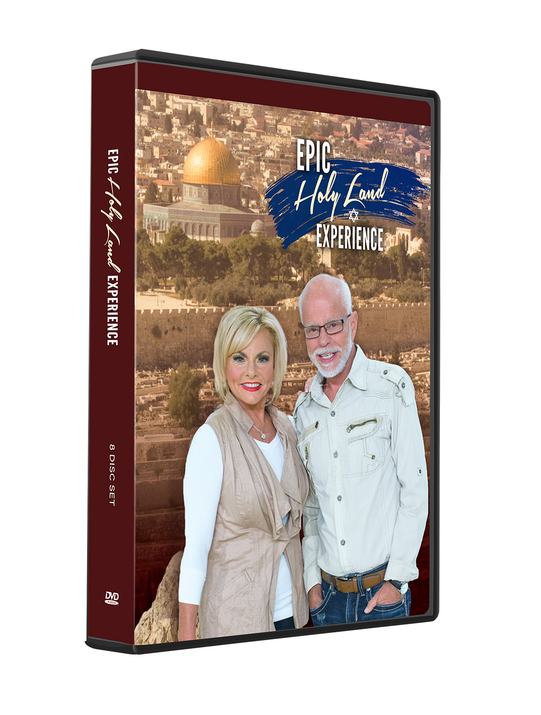 Epic Holy Land Tour DVD Set