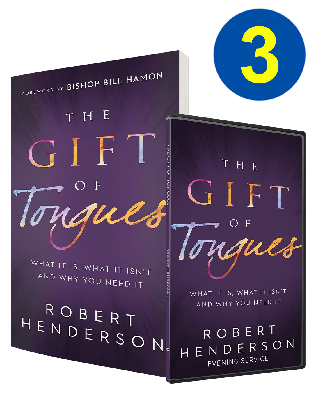 3 The Gift of Tongues Books Offer