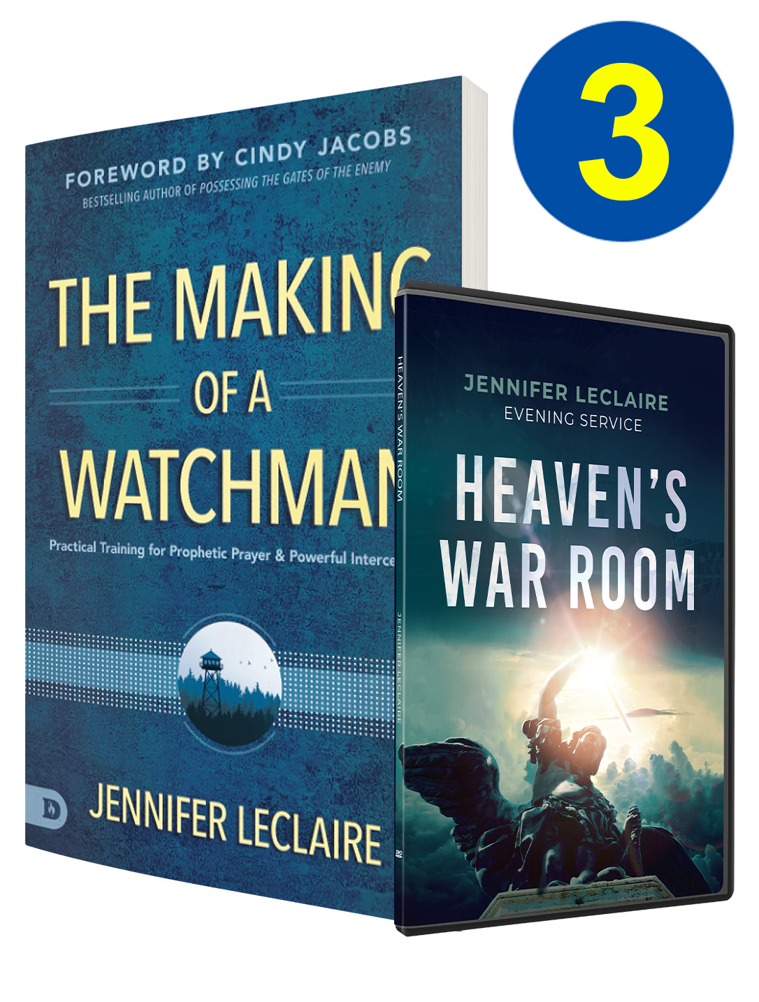 The Making Of A Watchman 3 Book & DVD Offer