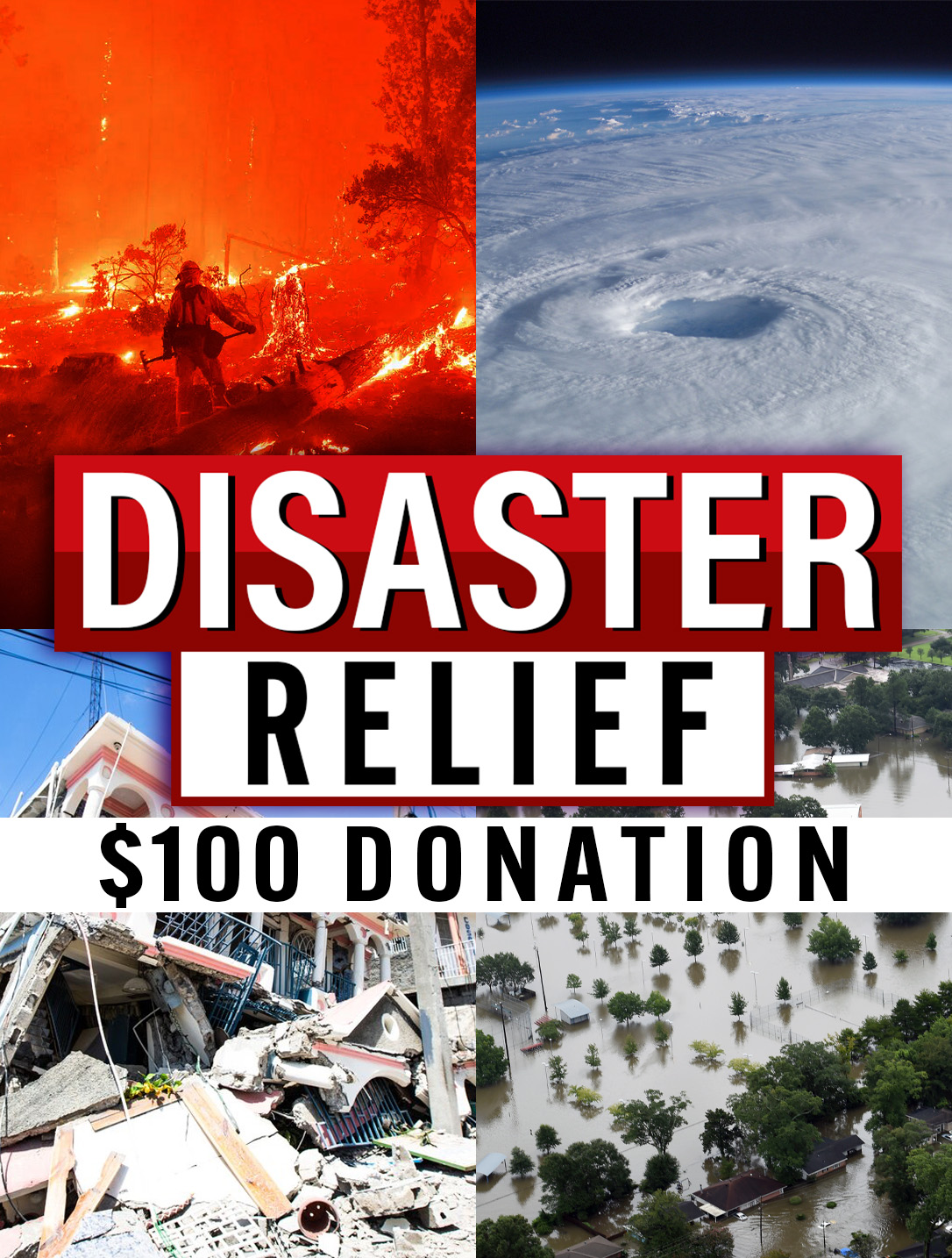 Disaster Relief Donation $100