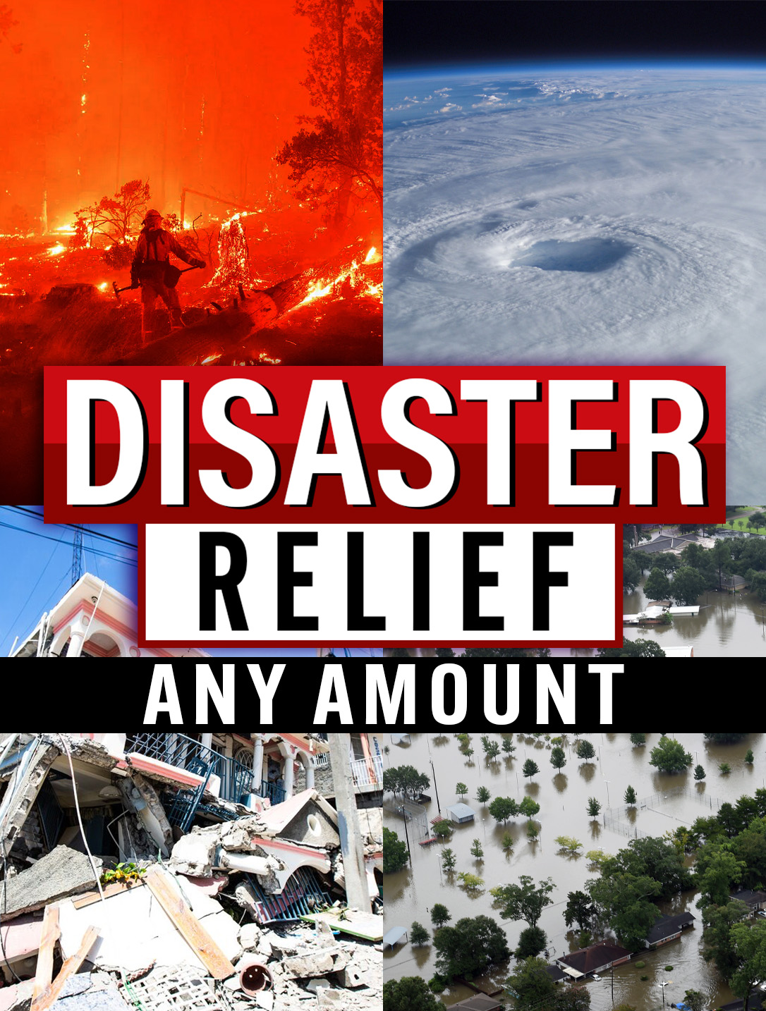 Disaster Relief Donation ANY
