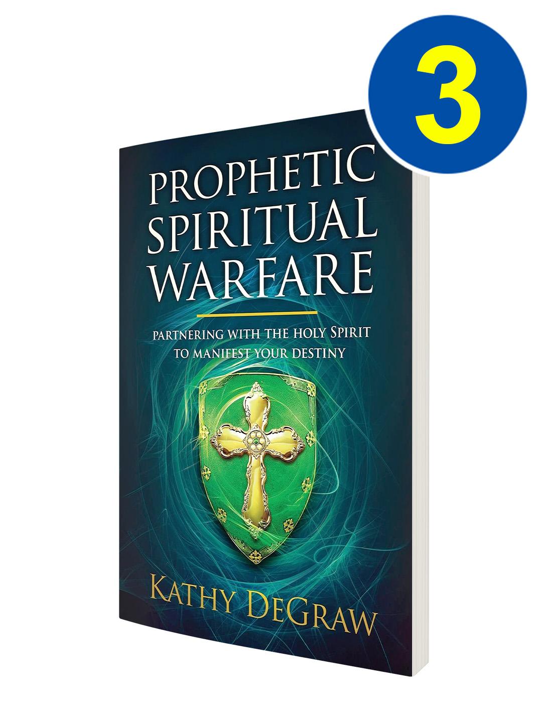 Prophetic Spiritual Warfare 3 Book Offer