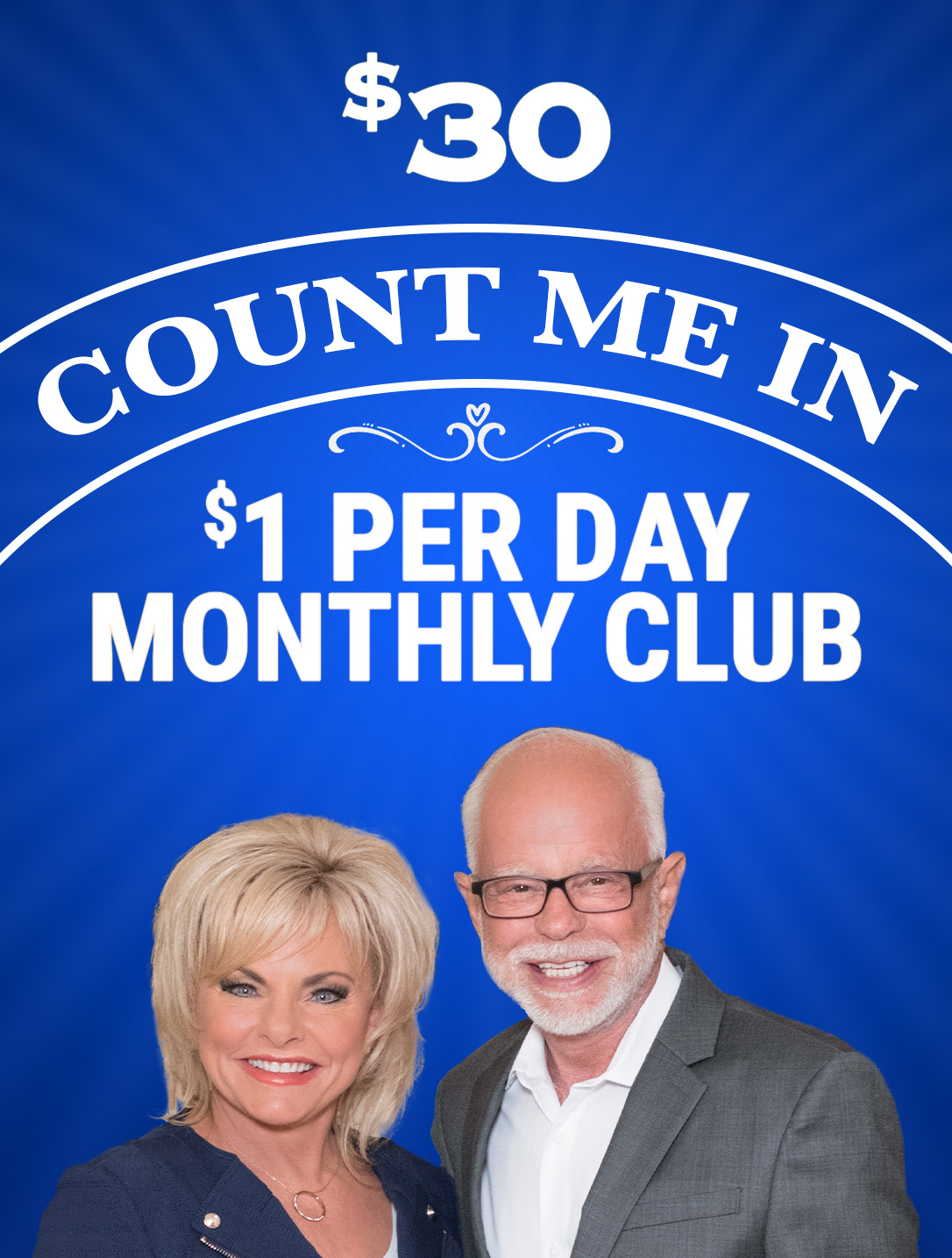 Count Me In - $1 Per Day Monthly Club