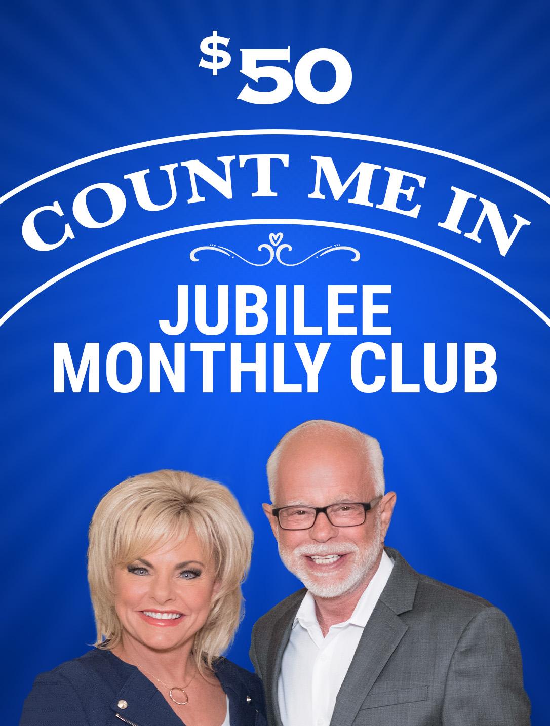 Count Me In - Jubilee Club - $50
