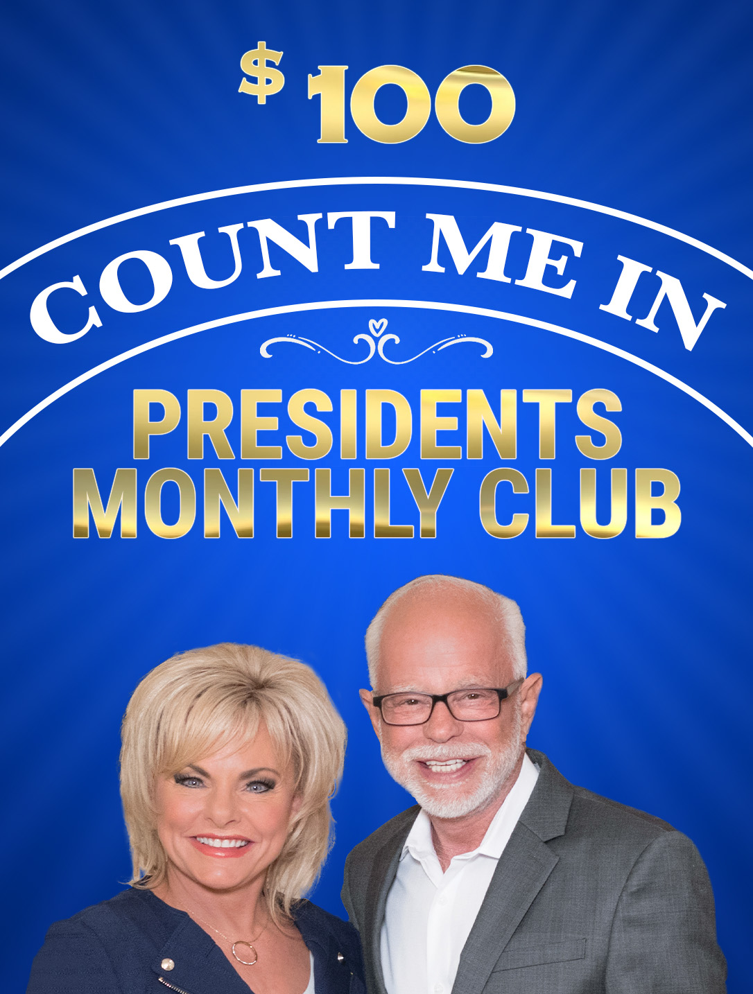 Count Me In - Presidents Club - $100