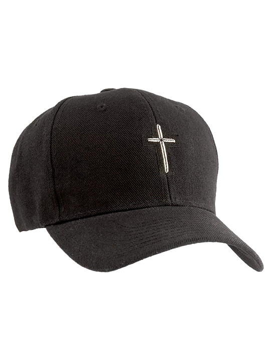 cross-hat-black