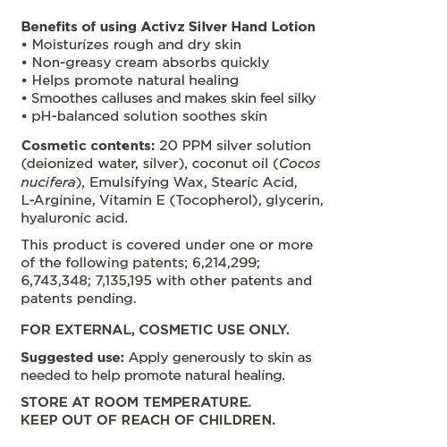 Activz-Silver-Hand-Lotion_information-panel