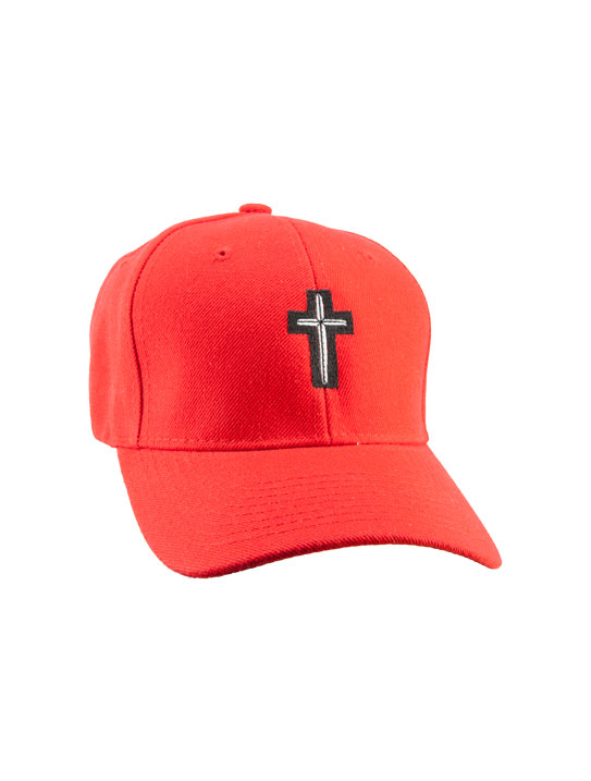 cross-hat-red