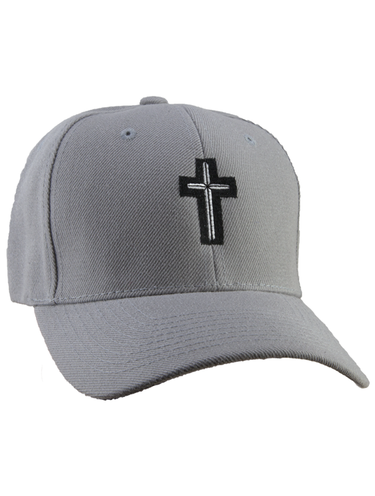 cross hat grey-2
