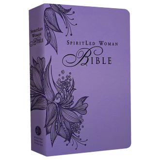 SpiritLed Woman Bible (Lavendar)