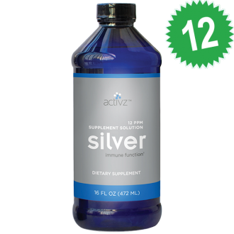 Case of 12 16oz Silver Sol Liquid